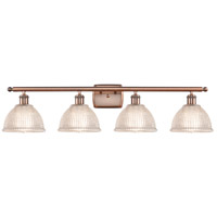 Innovations Lighting 516-4W-AC-G422-LED Arietta LED 36 inch Antique Copper Bath Vanity Light Wall Light Ballston