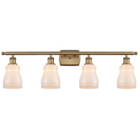 Innovations Lighting 516-4W-BB-G391-LED Ellery LED 36 inch Brushed Brass Bath Vanity Light Wall Light Ballston