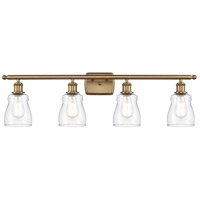 Innovations Lighting 516-4W-BB-G392-LED Ellery LED 36 inch Brushed Brass Bath Vanity Light Wall Light Ballston