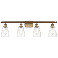 Innovations Lighting 516-4W-BB-G394-LED Ellery LED 36 inch Brushed Brass Bath Vanity Light Wall Light Ballston