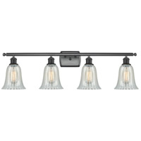 Matte Black Hanover Bathroom Vanity Lights