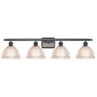 Innovations Lighting 516-4W-BK-G422 Arietta 4 Light 36 inch Matte Black Bath Vanity Light Wall Light Ballston
