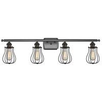Innovations Lighting 516-4W-OB-513-LED Barrington LED 36 inch Oil Rubbed Bronze Bath Vanity Light Wall Light, Austere