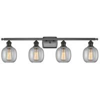 Innovations Lighting 516-4W-OB-G104-LED Belfast LED 36 inch Oil Rubbed Bronze Bath Vanity Light Wall Light Ballston
