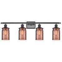 Innovations Lighting 516-4W-OB-G352-TOF Candor 4 Light 36 inch Oil Rubbed Bronze Bath Vanity Light Wall Light Ballston