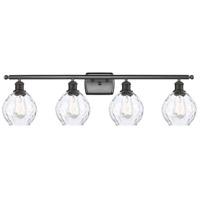 Innovations Lighting 516-4W-OB-G362-LED Small Waverly LED 36 inch Oil Rubbed Bronze Bath Vanity Light Wall Light Ballston