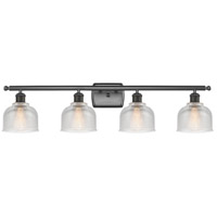 Innovations Lighting 516-4W-OB-G412-LED Dayton LED 36 inch Oil Rubbed Bronze Bath Vanity Light Wall Light Ballston