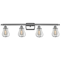 Innovations Lighting 516-4W-PC-513-LED Barrington LED 36 inch Polished Chrome Bath Vanity Light Wall Light Austere