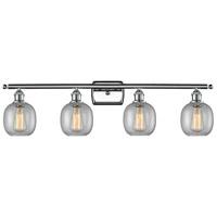 Innovations Lighting 516-4W-PC-G104-LED Belfast LED 36 inch Polished Chrome Bath Vanity Light Wall Light Ballston