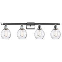 Innovations Lighting 516-4W-PC-G362-LED Small Waverly LED 36 inch Polished Chrome Bath Vanity Light Wall Light Ballston