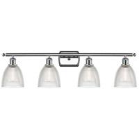 Innovations Lighting 516-4W-PC-G382-LED Castile LED 36 inch Polished Chrome Bath Vanity Light Wall Light Ballston