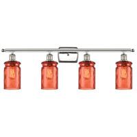 Innovations Lighting 516-4W-PN-G352-COR Candor 4 Light 36 inch Polished Nickel Bath Vanity Light Wall Light Ballston