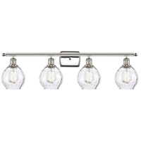 Innovations Lighting 516-4W-PN-G362-LED Small Waverly LED 36 inch Polished Nickel Bath Vanity Light Wall Light Ballston