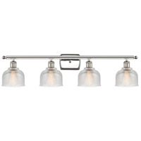 Innovations Lighting 516-4W-PN-G412-LED Dayton LED 36 inch Polished Nickel Bath Vanity Light Wall Light Ballston