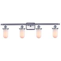 Innovations Lighting 516-4W-SN-232-W-LED Kingsbury LED 36 inch Brushed Satin Nickel Bathroom Fixture Wall Light