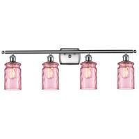 Innovations Lighting 516-4W-SN-G352-LIL Candor 4 Light 36 inch Satin Nickel Bath Vanity Light Wall Light Ballston