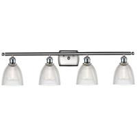 Innovations Lighting 516-4W-SN-G382-LED Castile LED 36 inch Satin Nickel Bath Vanity Light Wall Light Ballston