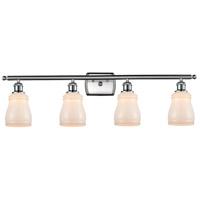 Innovations Lighting 516-4W-SN-G391-LED Ellery LED 36 inch Satin Nickel Bath Vanity Light Wall Light Ballston