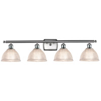 Innovations Lighting 516-4W-SN-G422 Arietta 4 Light 36 inch Satin Nickel Bath Vanity Light Wall Light Ballston