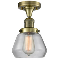 Innovations Lighting 517-1CH-AB-G172 Signature 1 Light 7 inch Antique Brass Flush Mount Ceiling Light