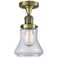 Innovations Lighting 517-1CH-AB-G192 Signature 1 Light 7 inch Antique Brass Flush Mount Ceiling Light