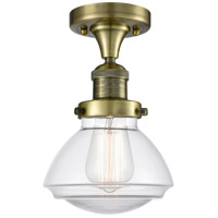 Cast Brass Olean Semi-Flush Mounts
