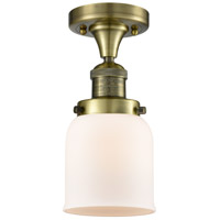Innovations Lighting 517-1CH-AB-G51 Signature 1 Light 5 inch Antique Brass Flush Mount Ceiling Light, Small, Bell