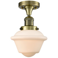 Innovations Lighting 517-1CH-AB-G531 Small Oxford 1 Light 8 inch Antique Brass Semi-Flush Mount Ceiling Light Franklin Restoration