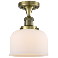Innovations Lighting 517-1CH-AB-G71 Signature 1 Light 8 inch Antique Brass Flush Mount Ceiling Light, Large, Bell