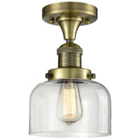 Innovations Lighting 517-1CH-AB-G72 Signature 1 Light 8 inch Antique Brass Flush Mount Ceiling Light, Large, Bell