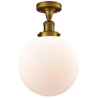 Brushed Brass X-Large Beacon Semi-Flush Mounts