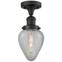 Innovations Lighting 517-1CH-OB-G165-LED Geneseo LED 7 inch Oil Rubbed Bronze Semi-Flush Mount Ceiling Light Franklin Restoration