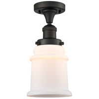 Innovations Lighting 517-1CH-OB-G181 Canton 1 Light 6 inch Oil Rubbed Bronze Semi-Flush Mount Ceiling Light Franklin Restoration