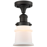 Innovations Lighting 517-1CH-OB-G181S Small Canton 1 Light 6 inch Oil Rubbed Bronze Semi-Flush Mount Ceiling Light Franklin Restoration