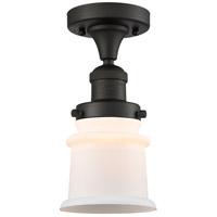 Innovations Lighting 517-1CH-OB-G181S Small Canton 1 Light 6 inch Oil Rubbed Bronze Semi-Flush Mount Ceiling Light Franklin Restoration
