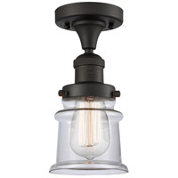 Innovations Lighting 517-1CH-OB-G182S Small Canton 1 Light 6 inch Oil Rubbed Bronze Semi-Flush Mount Ceiling Light Franklin Restoration