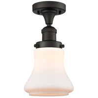 Innovations Lighting 517-1CH-OB-G191-LED Bellmont LED 6 inch Oil Rubbed Bronze Semi-Flush Mount Ceiling Light Franklin Restoration