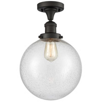 Innovations Lighting 517-1CH-OB-G204-10-LED X-Large Beacon LED 10 inch Oil Rubbed Bronze Semi-Flush Mount Ceiling Light Franklin Restoration