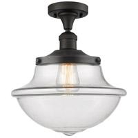 Innovations Lighting 517-1CH-OB-G542 Large Oxford 1 Light 12 inch Oil Rubbed Bronze Semi-Flush Mount Ceiling Light, Franklin Restoration