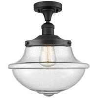 Innovations Lighting 517-1CH-OB-G544 Large Oxford 1 Light 12 inch Oil Rubbed Bronze Semi-Flush Mount Ceiling Light, Franklin Restoration