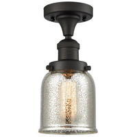 Innovations Lighting 517-1CH-OB-G58 Small Bell 1 Light 5 inch Oil Rubbed Bronze Semi-Flush Mount Ceiling Light Franklin Restoration