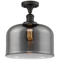Innovations Lighting 517-1CH-OB-G73-L-LED X-Large Bell LED 12 inch Oil Rubbed Bronze Semi-Flush Mount Ceiling Light Franklin Restoration