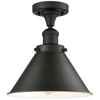 Innovations Lighting 517-1CH-OB-M11-LED Briarcliff LED 10 inch Oil Rubbed Bronze Semi-Flush Mount Ceiling Light