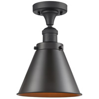 Innovations Lighting 517-1CH-OB-M13-OB Appalachian 1 Light 8 inch Oil Rubbed Bronze Semi-Flush Mount Ceiling Light Franklin Restoration