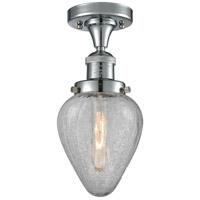 Innovations Lighting 517-1CH-PC-G165-LED Geneseo LED 7 inch Polished Chrome Semi-Flush Mount Ceiling Light, Franklin Restoration