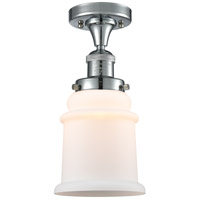 Innovations Lighting 517-1CH-PC-G181 Canton 1 Light 6 inch Polished Chrome Semi-Flush Mount Ceiling Light Franklin Restoration