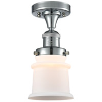 Innovations Lighting 517-1CH-PC-G181S Small Canton 1 Light 6 inch Polished Chrome Semi-Flush Mount Ceiling Light Franklin Restoration