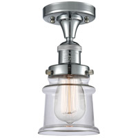 Innovations Lighting 517-1CH-PC-G182S Small Canton 1 Light 6 inch Polished Chrome Semi-Flush Mount Ceiling Light Franklin Restoration