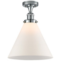 Innovations Lighting 517-1CH-PC-G41-L X-Large Cone 1 Light 12 inch Polished Chrome Semi-Flush Mount Ceiling Light Franklin Restoration