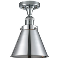 Innovations Lighting 517-1CH-PC-M13-PC Appalachian 1 Light 8 inch Polished Chrome Semi-Flush Mount Ceiling Light Franklin Restoration
